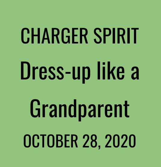 Charger Spirit - Dress Like a Grandparent