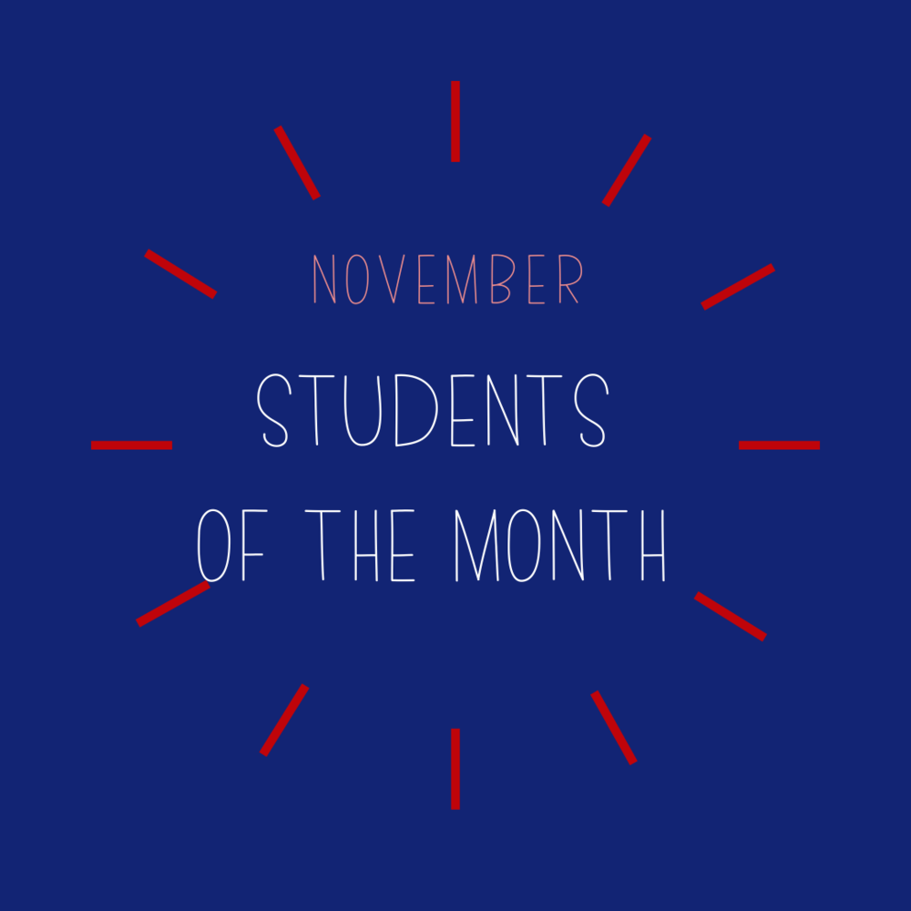 November Students of the Month: Health Sciences