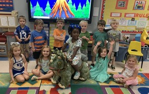 It's been a DINO-MITE day in Pre-K at FCE!