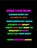 Charger Spirit WEAR YOUR NEON