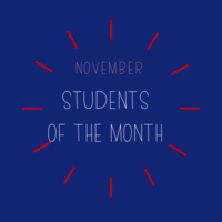 November Students of the Month: Culinary Arts