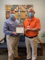 CCCTC Receives Certificate of Accreditation Award