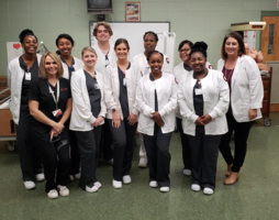 EMCC Nursing Students & Instructors Visit CCCTC