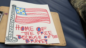 CCCTC Sends Thank You Cards to Troops