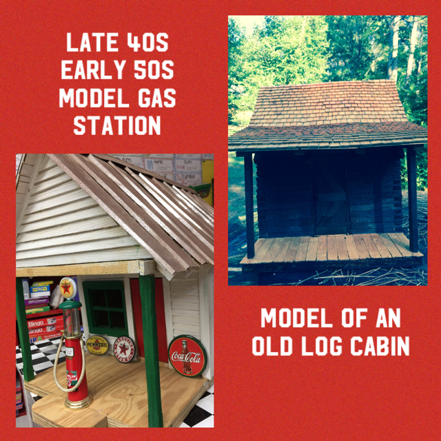 Mr. Snyder Log Cabin and Gas Station