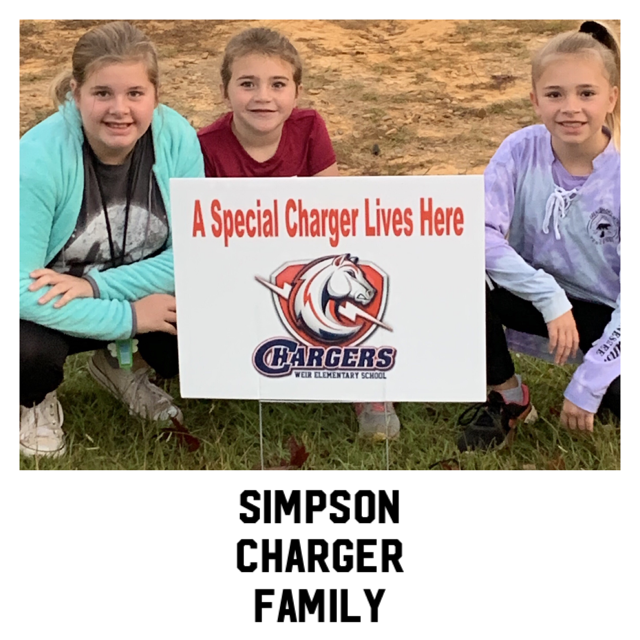 Simpson Family Chargers have the CHARGER SPIRIT!