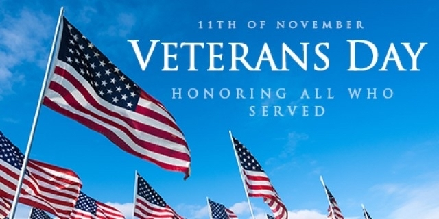 Veterans honor sign