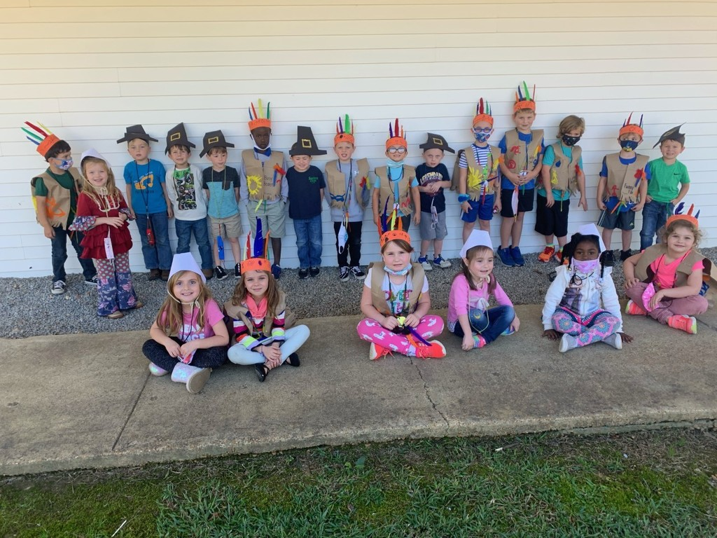Thanksgiving Pilgrims and Indians
