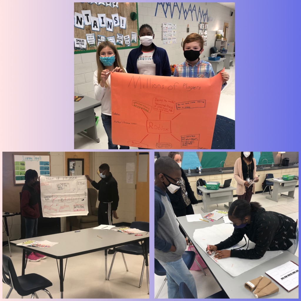 Mrs. McKnight's 5th and 6th grade ELA students have been working hard on their StoryWorks stories by creating concept maps and presenting them to the class! #weirexcellenceshines