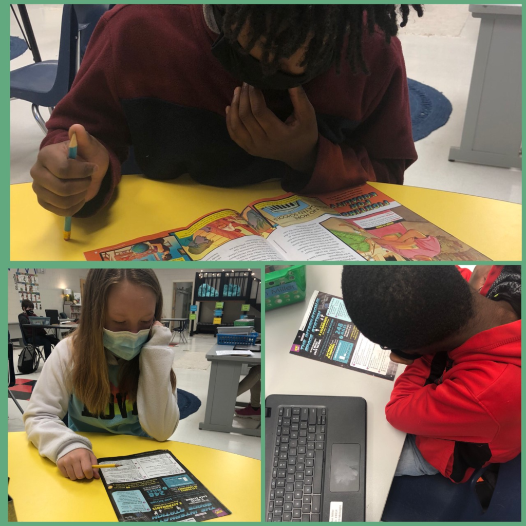 6th grade ELA students have been working hard on their Scholastic News magazine this week! #weirexcellenceshines