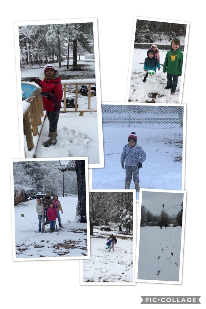 WES 1st and 2nd graders had a lot of fun in the snow!