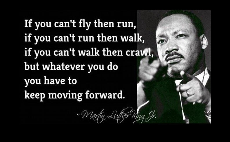 Dr Martin Luther King quote