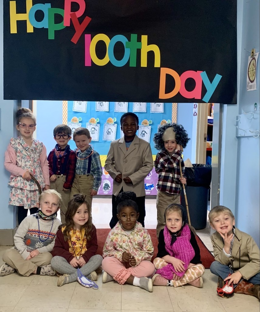 FCE Pre-K Happy 100th day!