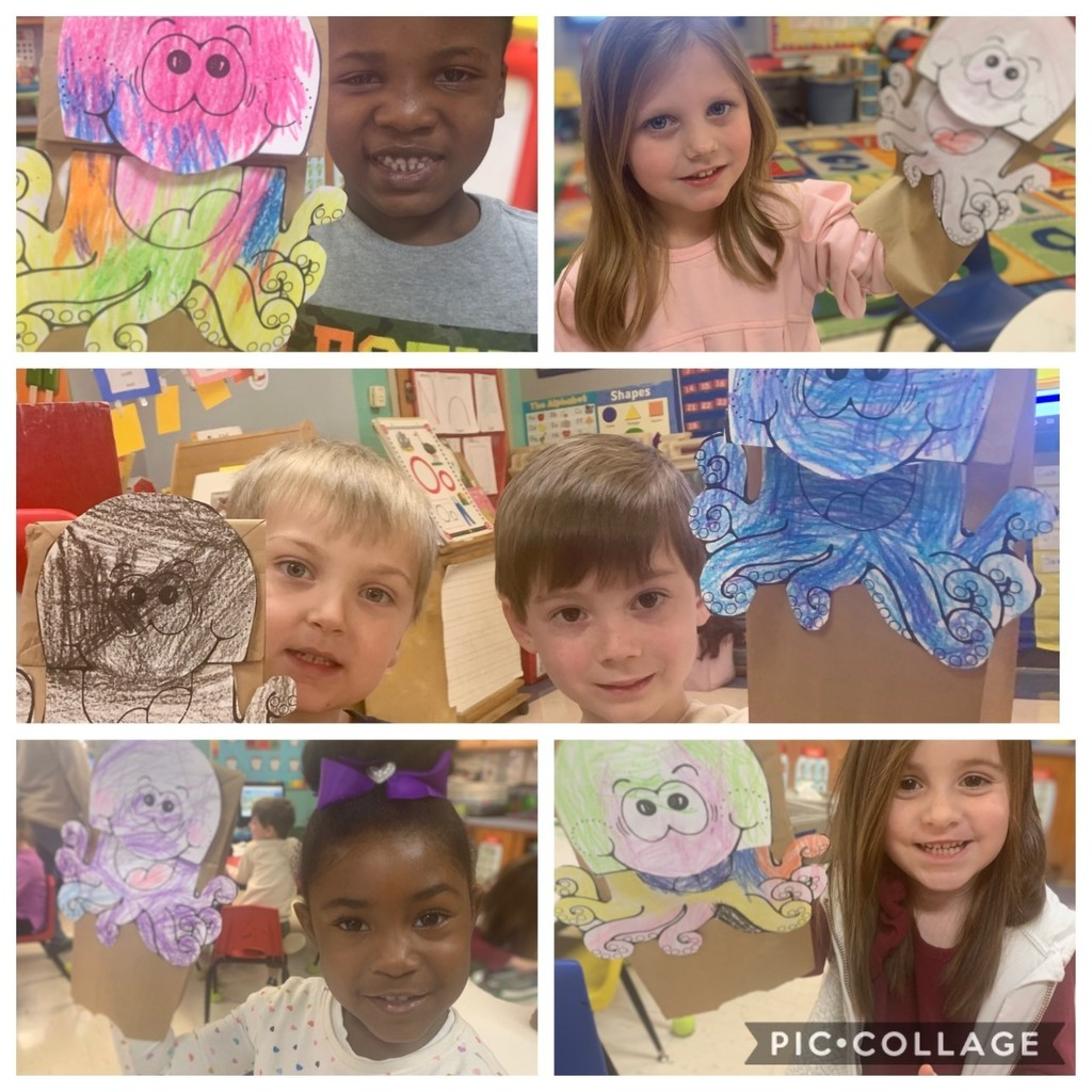 FCE Pre-K had fun using dramatic play to pretend to be octopuses living in the vast ocean.