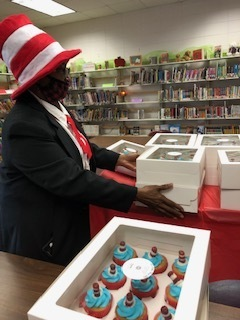 Students at Weir Elementary School enjoyed cupcakes from CC's Bake Shop that were provided by Weir PTO to celebrate the birthday of Dr. Seuss on March 2nd. Students of all ages at WES love hearing and reading the stories written by Dr. Seuss.