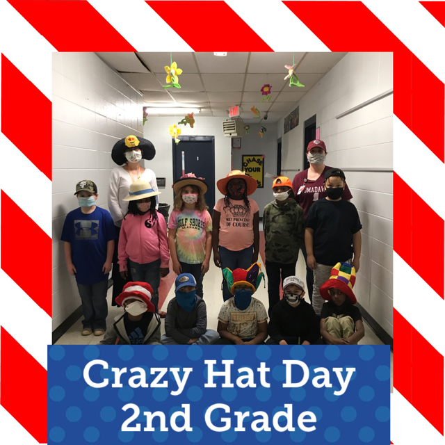 WES 2nd Grade Crazy Hat Day