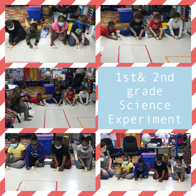 WES 1st & 2nd Grade Science