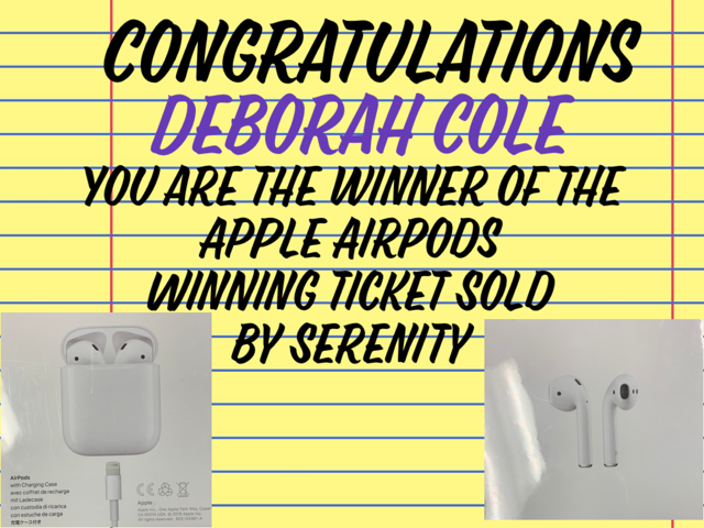 WES Apple Airpod Winner Announcement
