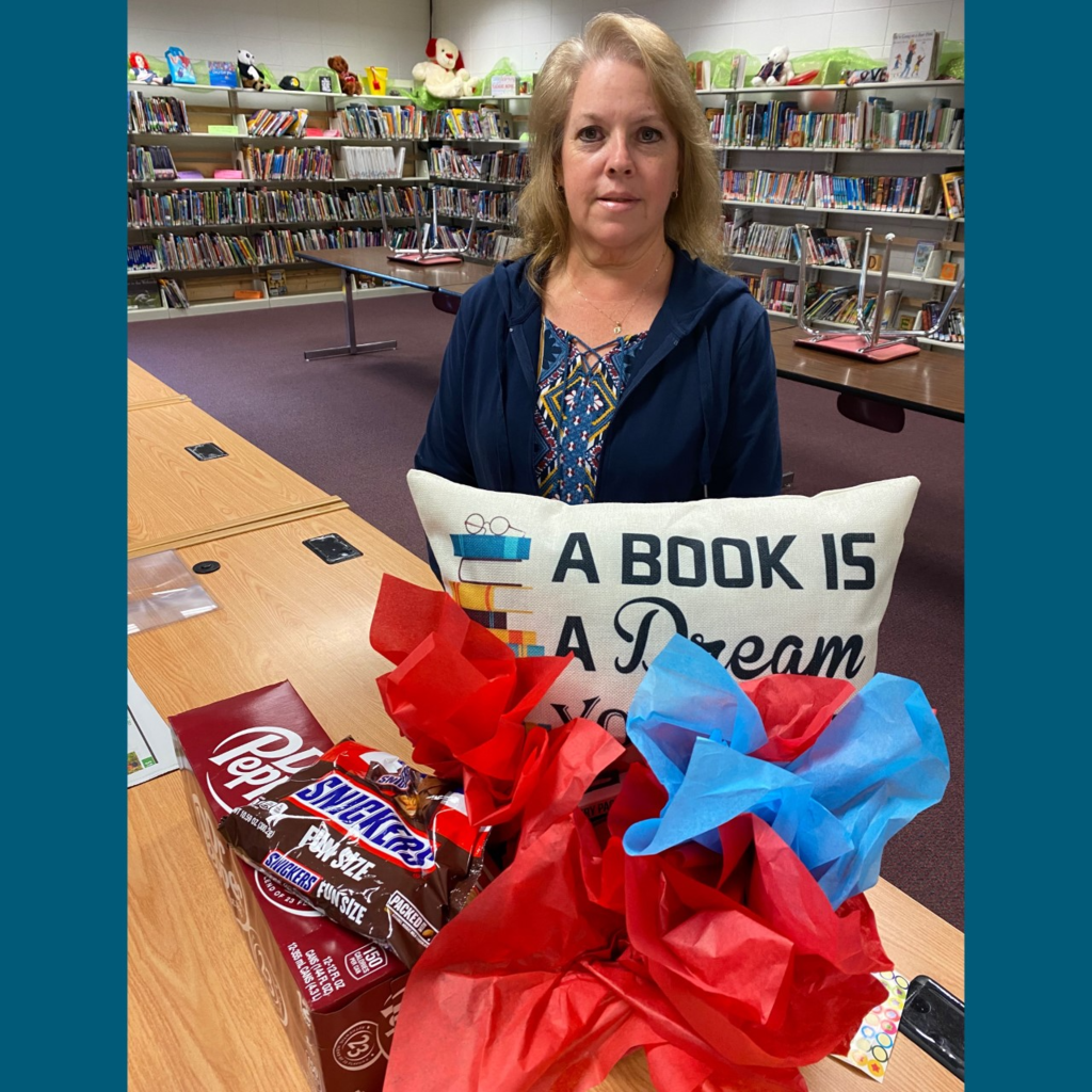 This week we celebrated School Librarian Day! Mrs. Fisher goes above and beyond for all of our students at WES in many different ways. Mrs. Fisher, WES is so grateful for you and all you do for our school!
