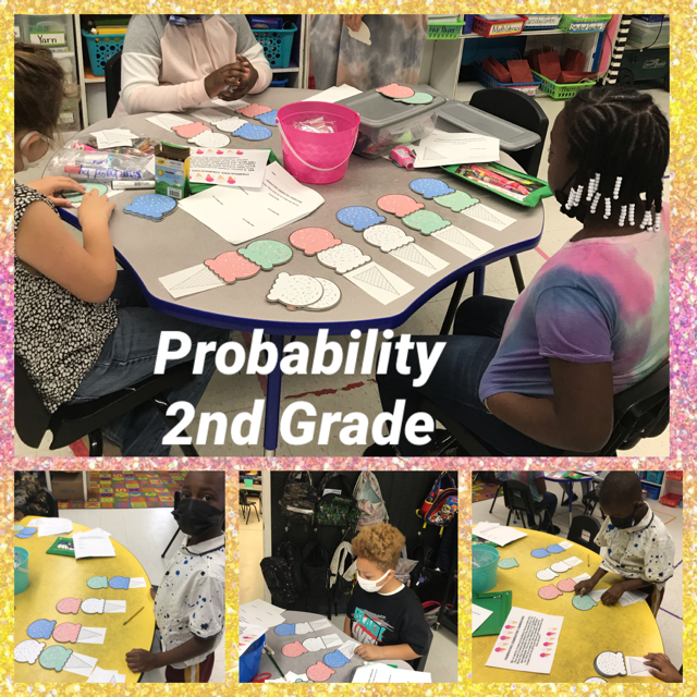 Weir Elementary 2nd Grade learning about probability