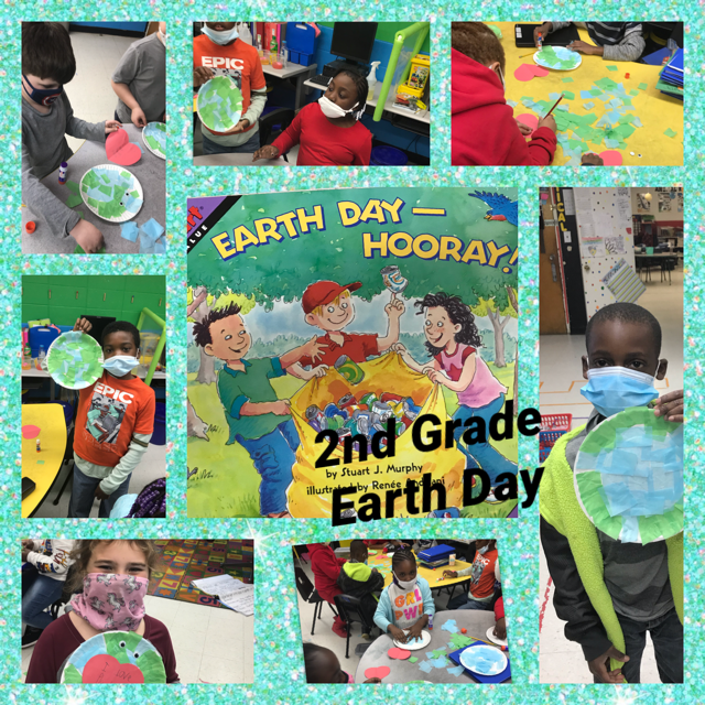 WES 2nd Grade Students Celebrate Earth Day