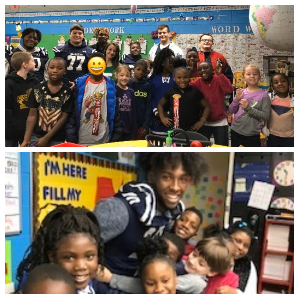 WE as 2nd graders and Charger football team members