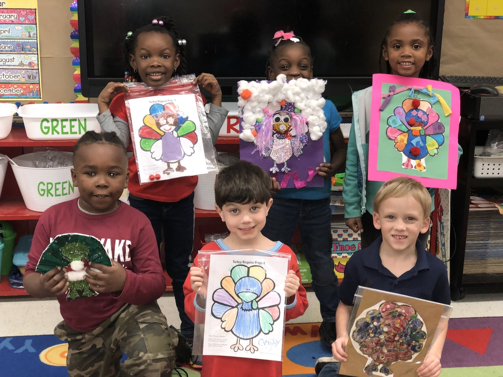 WES students turkey art.