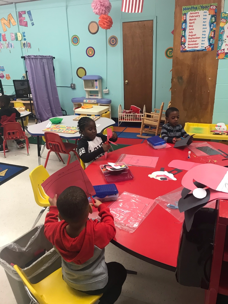 Wes pre k students