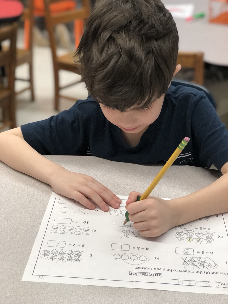 Wes student doing math.