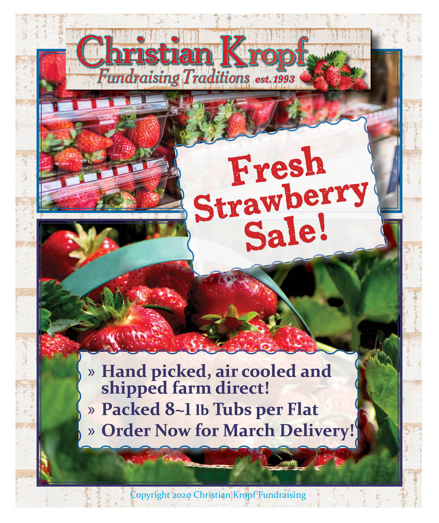 strawberry sale