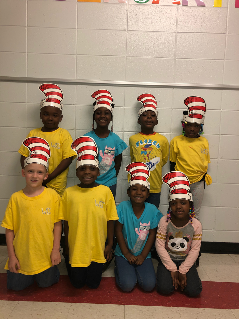 WES Kindergarten Celebrates Dr. Seuss Week