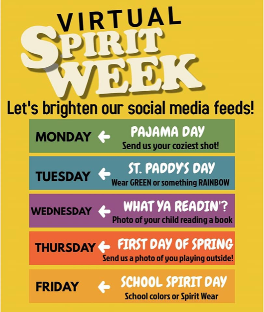 WES Virtual Spirit Week