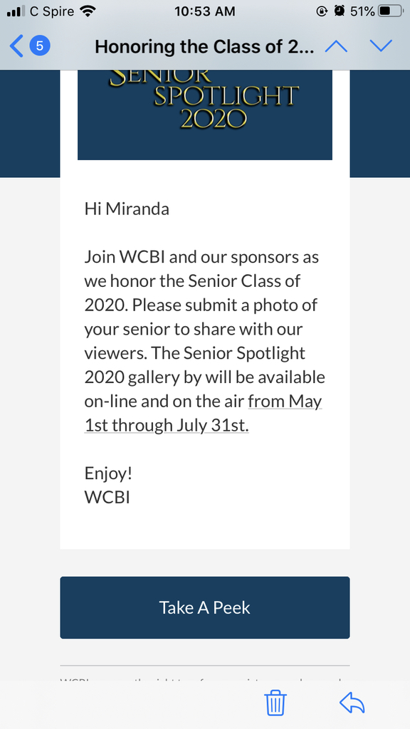 WCBI Senior Spotlight