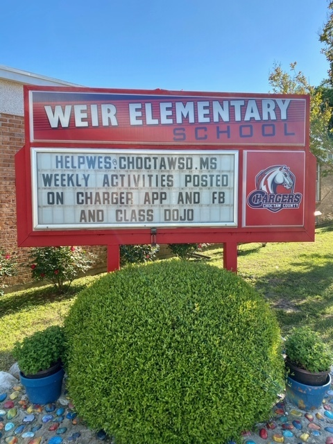 Weir Elementary School Announcements