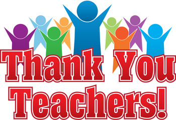 Thank you to teachers!