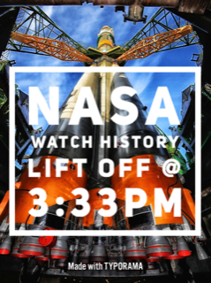 NASA Watch Lift Off History Today