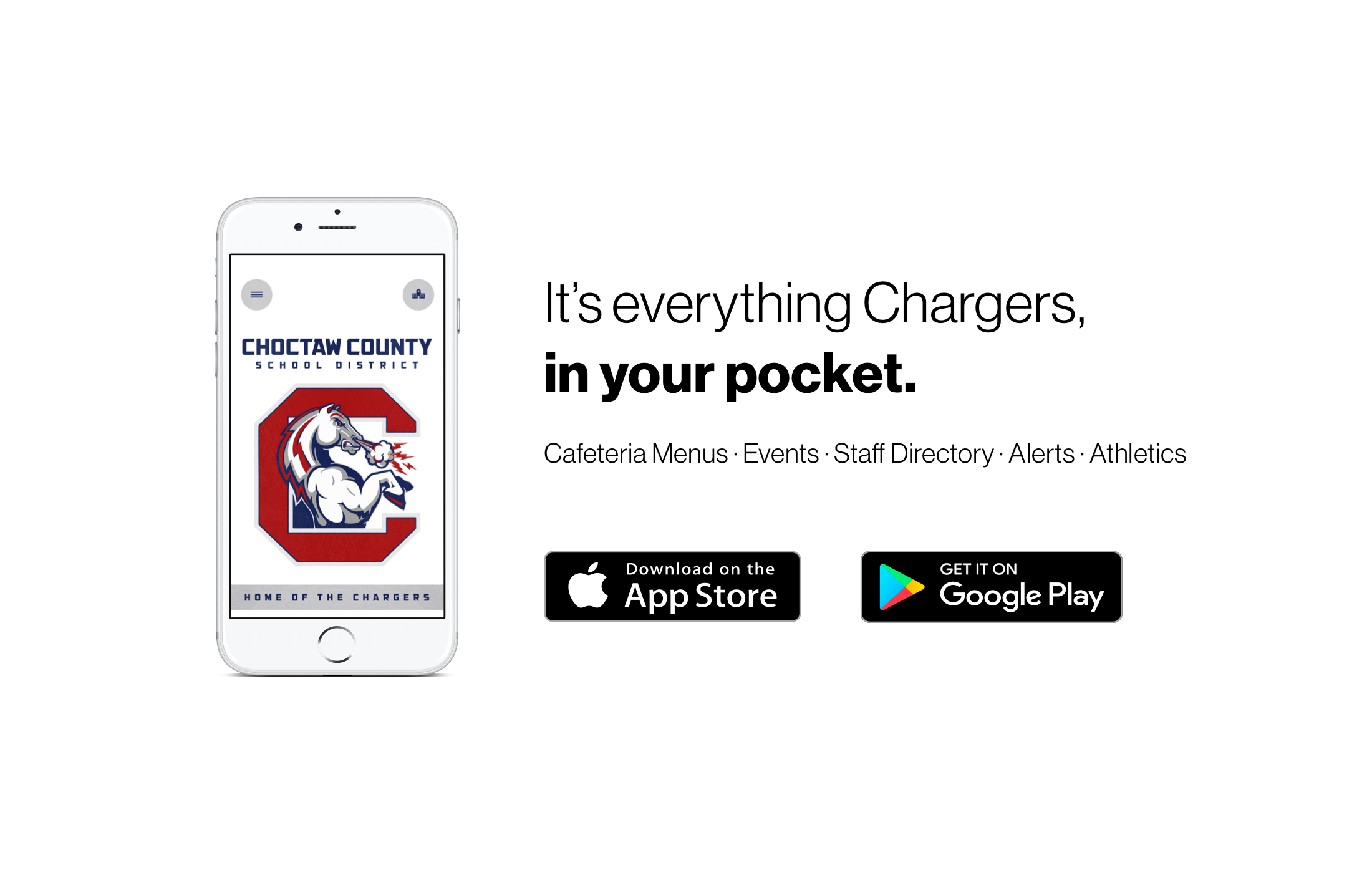 It's everything chargers in your pocket. Available on Apple and Google App Stores
