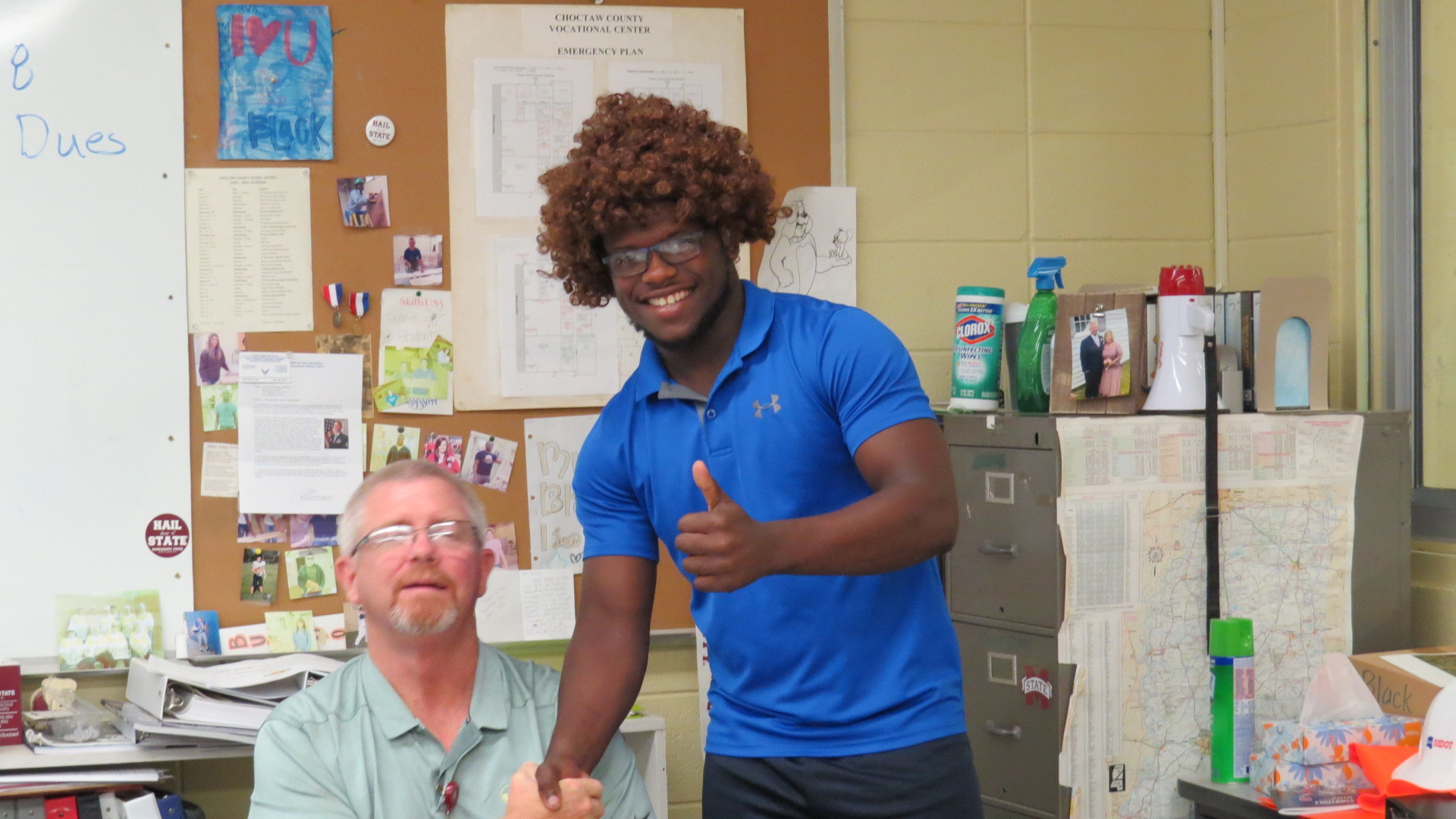 Tyler and mr. black