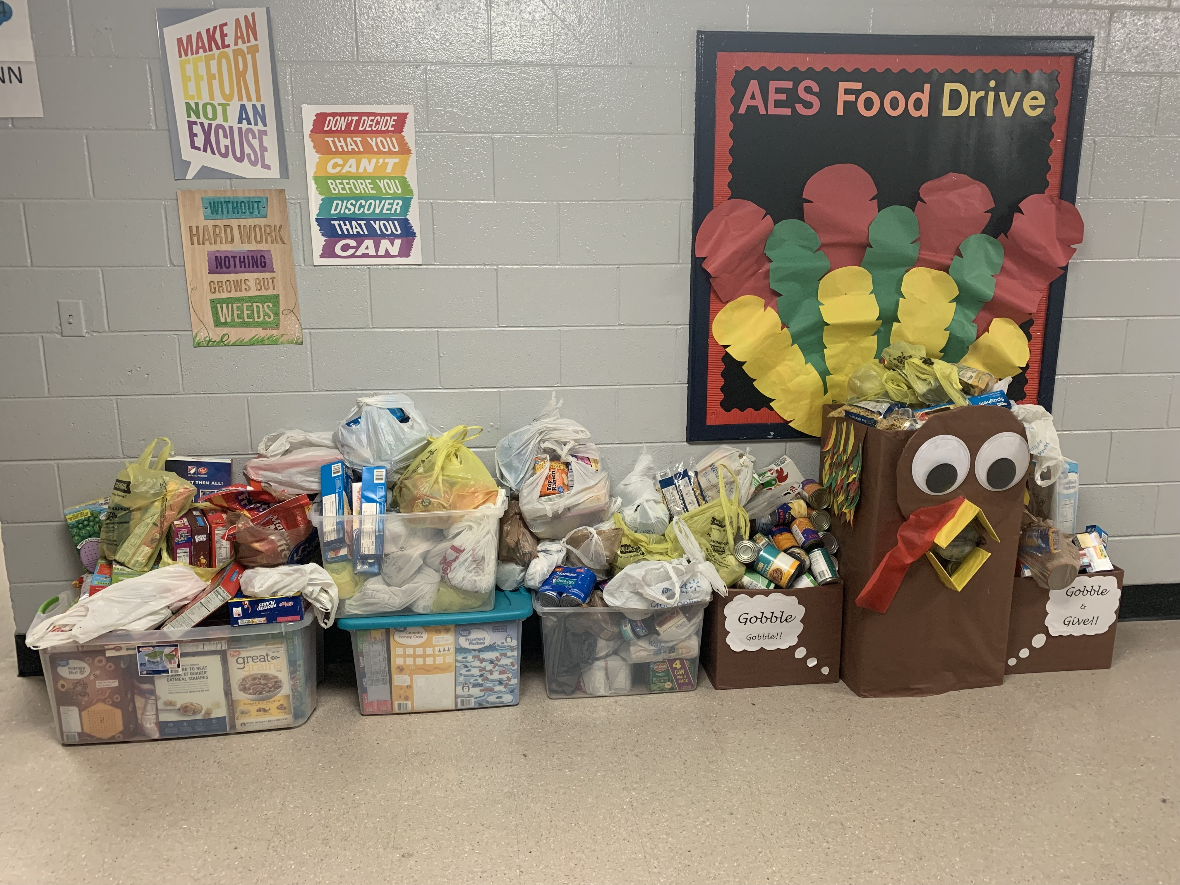 AES Food Drive